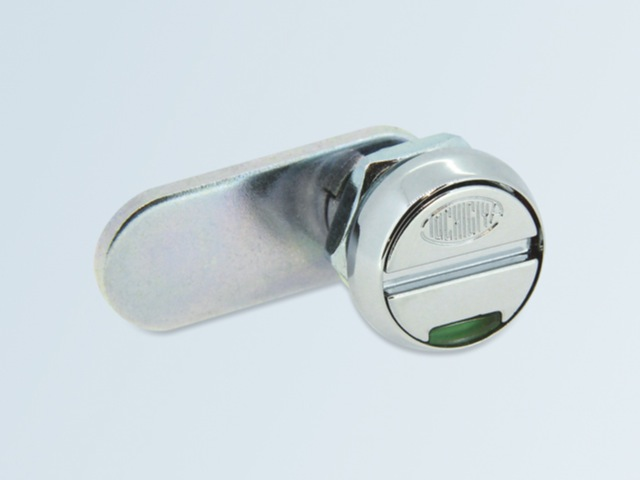 Screwdriver lock with indicator