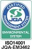 ISO14001 JQA-EM3462